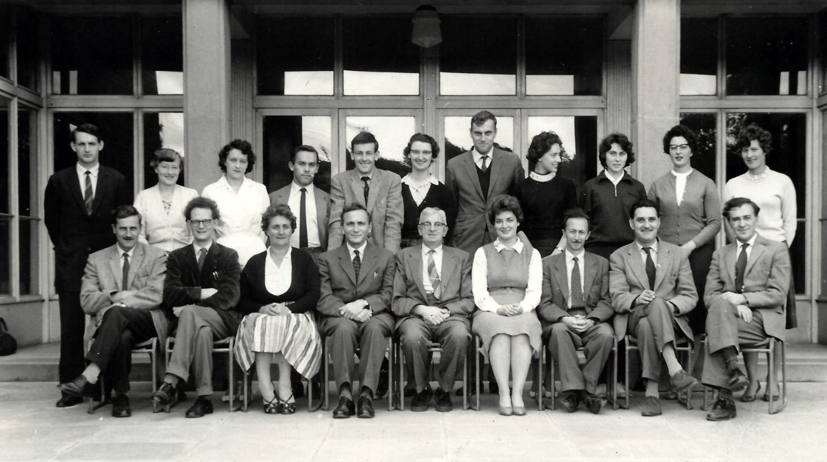 Wheatley Secondary School staff 1961/2