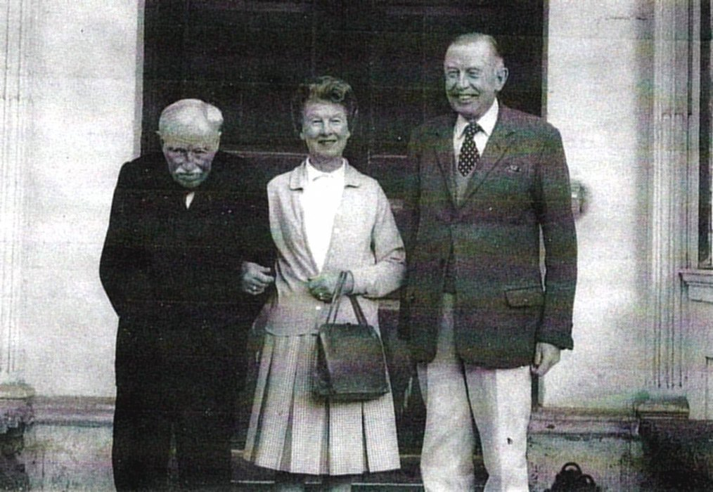 Major Alastair Miller, Col Sir John Miller & their sister Mrs Cynthia Pitman