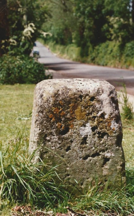 Mounting block on Old Road