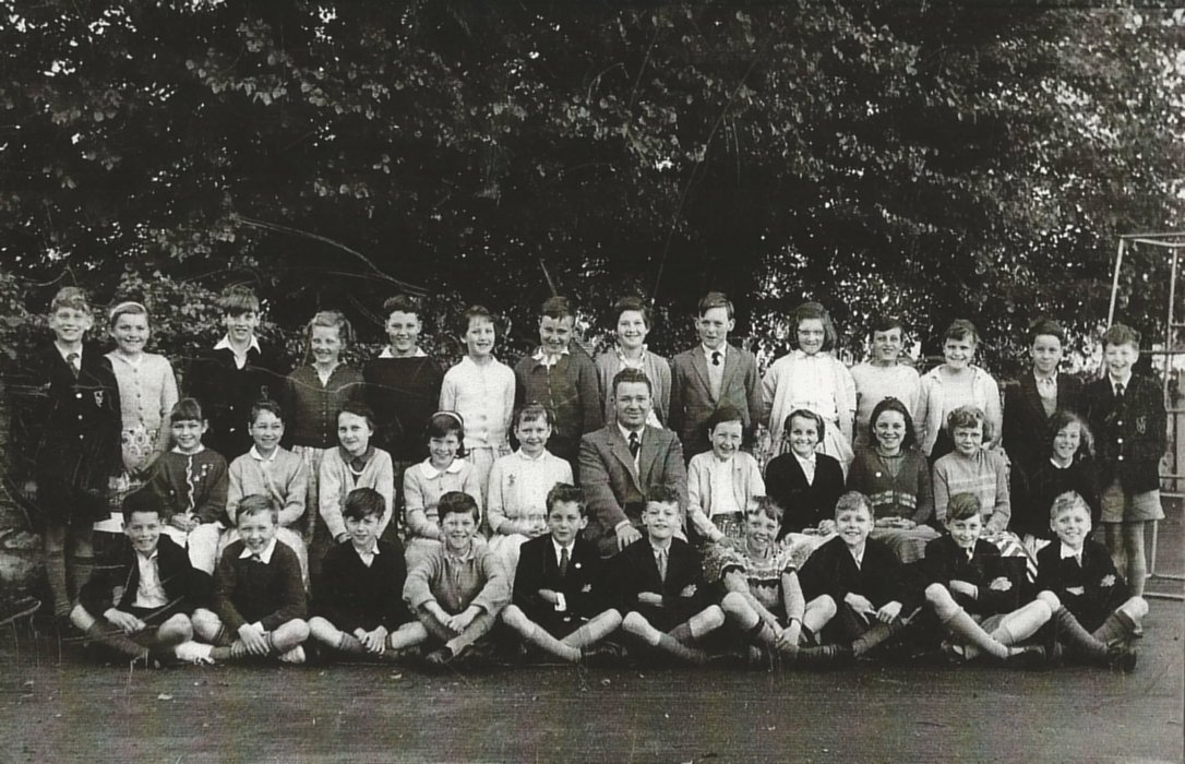 One of the classes of Wheatley C of E Primary School 1956