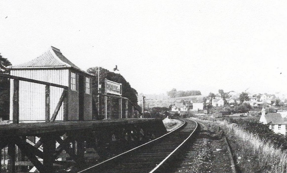 Horspath Halt, opened in June 1933 and closed in January 1963