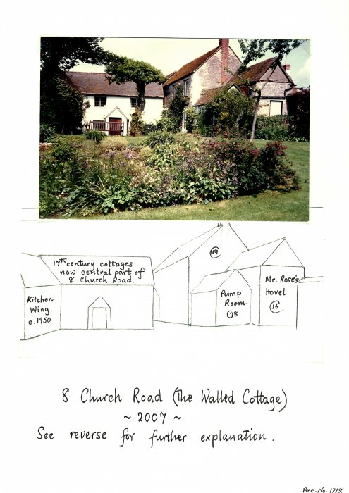 Photo and schematic history of 8 Church Road
