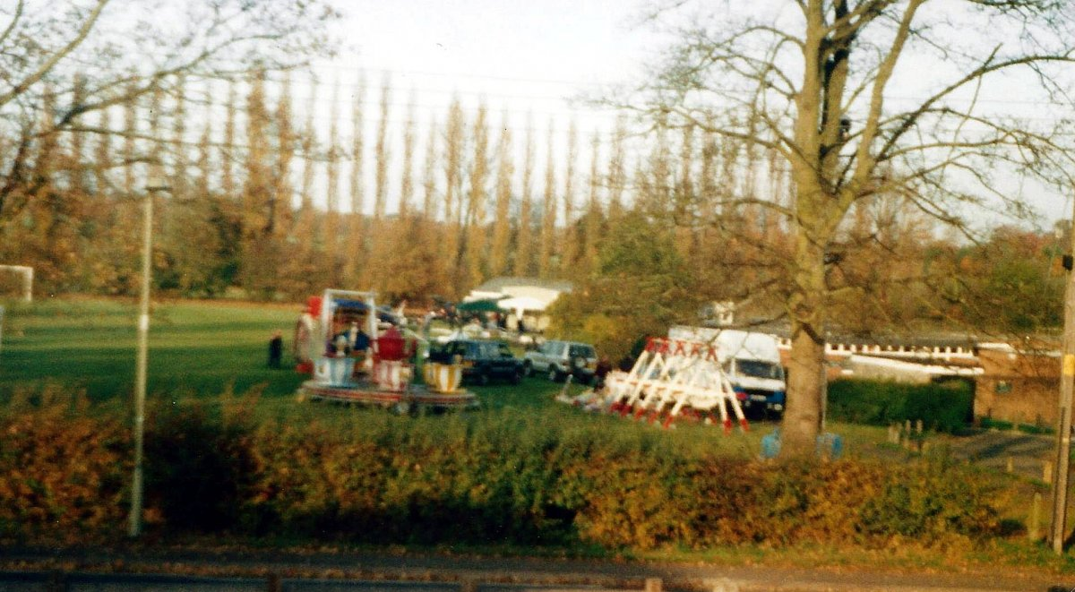 Funfair on the Primary School playing field