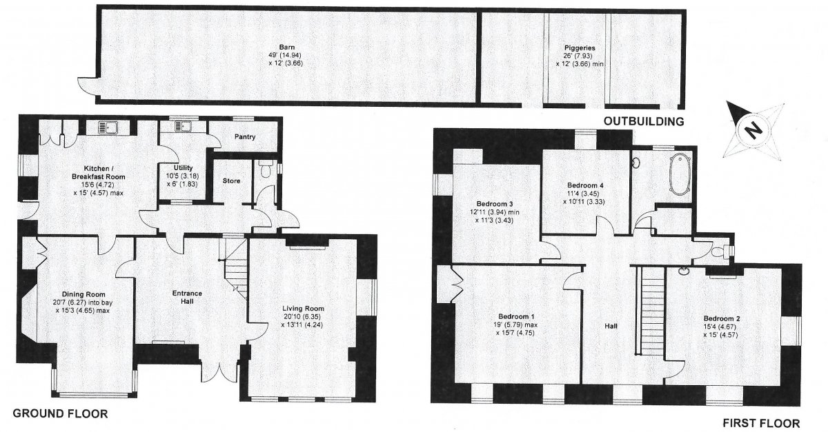 Floor plans from 2008 brochure