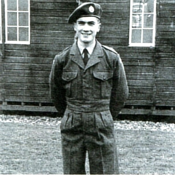 Peter Jackson in National Service days