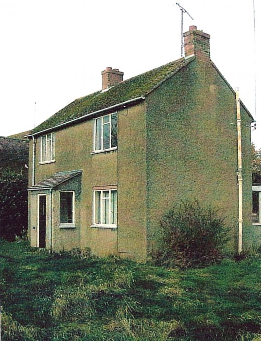 2009. The previous house on No. 56 Littleworth demolished in 2007