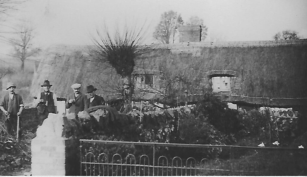 Littleworth House before being demolished in the 1950s