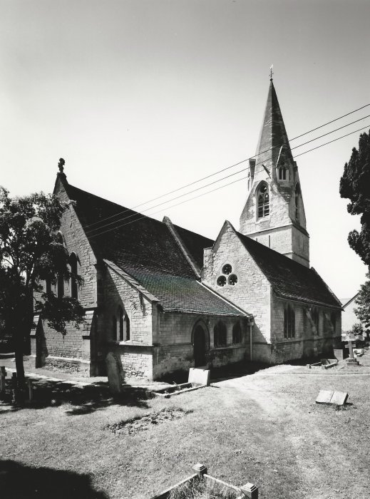 St Mary's Church, Royal Commission photographs 1999