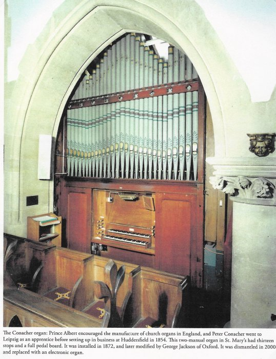 The Conacher organ