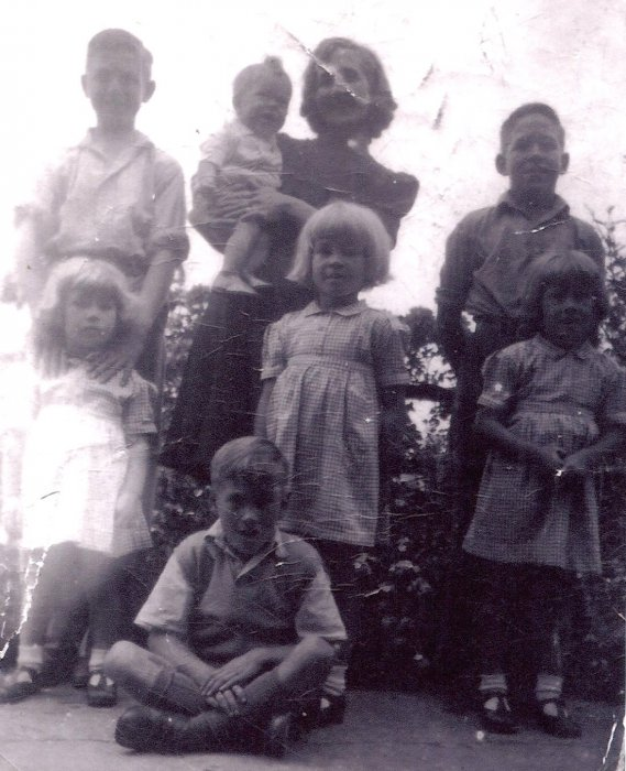 The West family about 1944