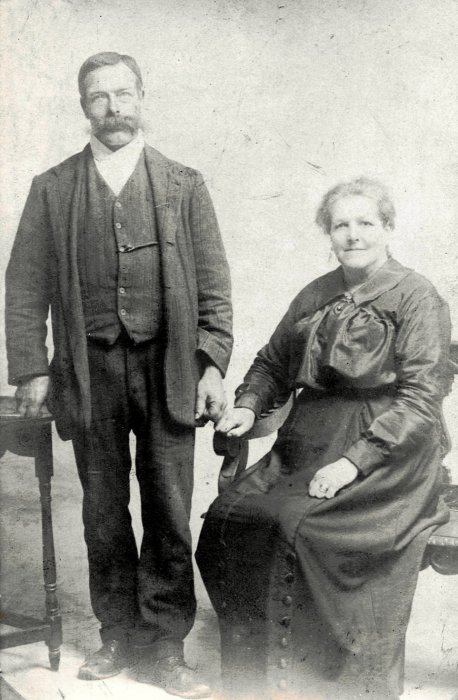 James Munt with wife Anne (née Jeffery)