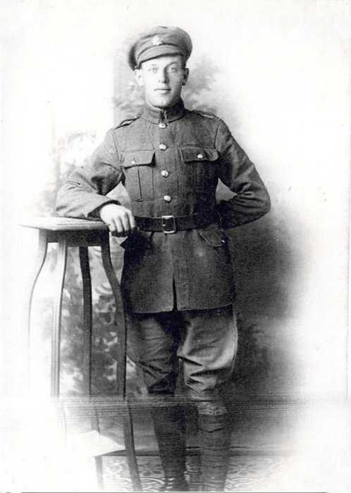 William Spearing (b. 1891), Royal Army Service Corps