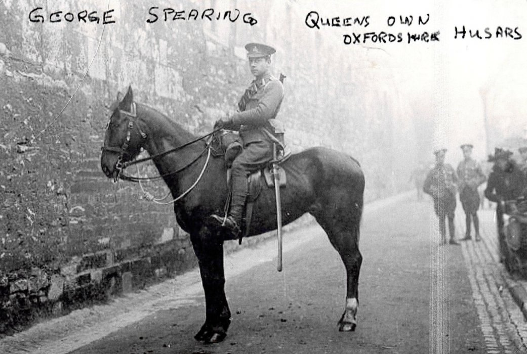 George Spearing, Queen's Own Oxfordshire Hussars