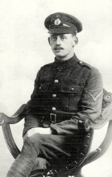 Percy Heath in Royal Engineers uniform