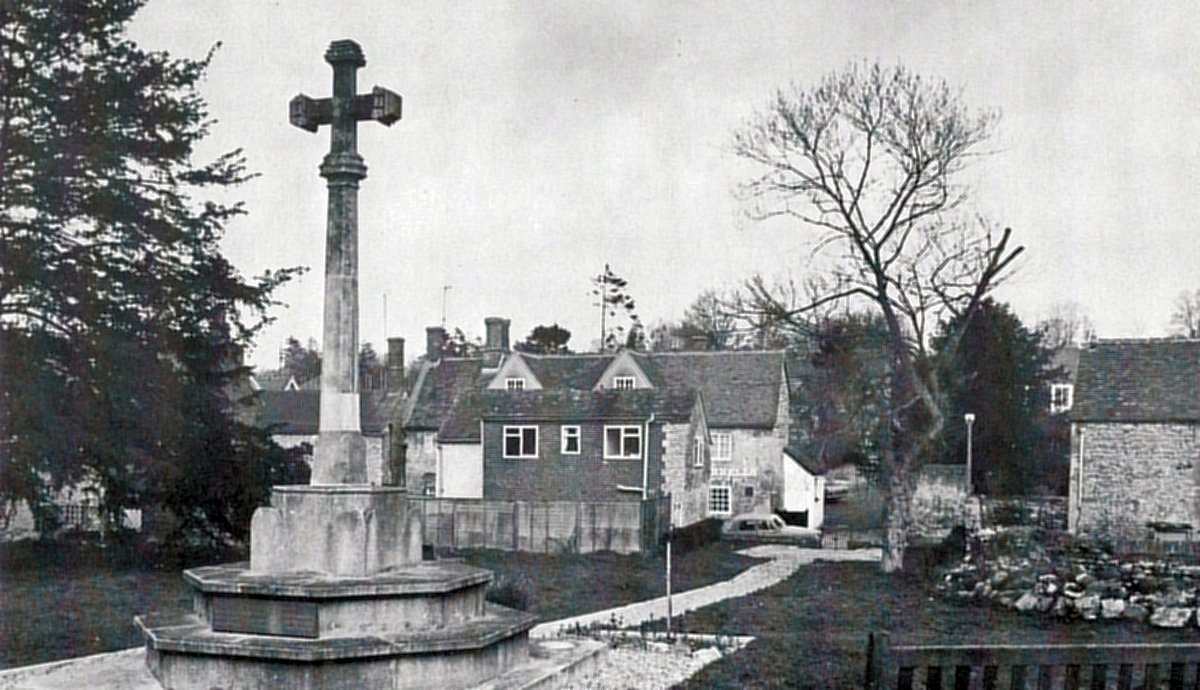 1977. War Memorial as shown in the 1977 Jubilee brochure