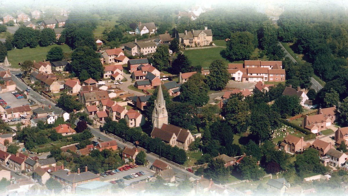 Aerial view taken in 2000
