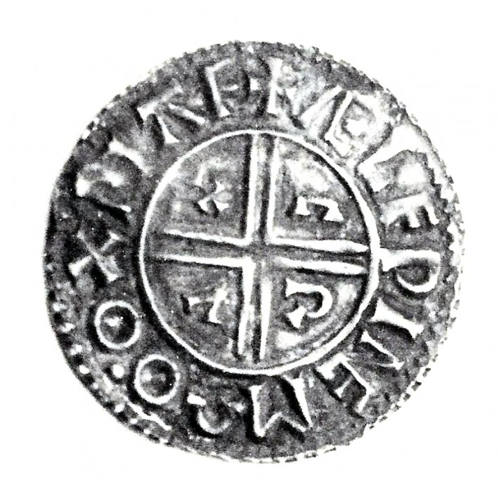 Silver penny of Athelraed 'Unraed' 975-1016