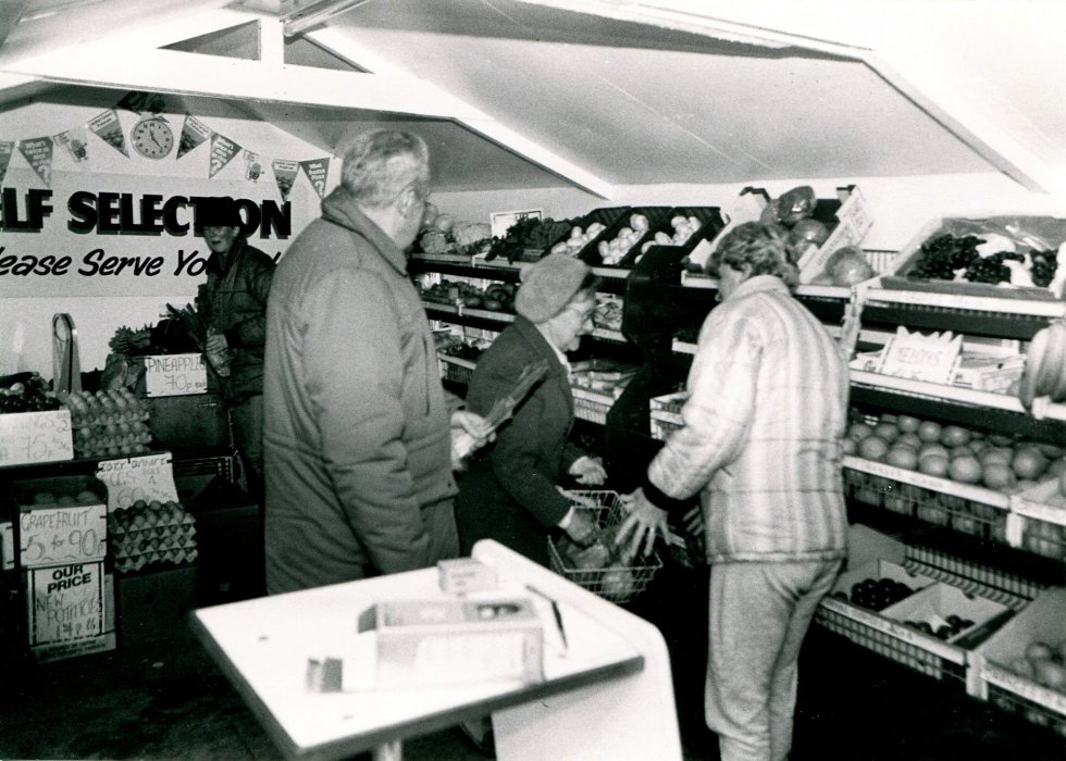 Late 1980s as the shop only opened c. 1988