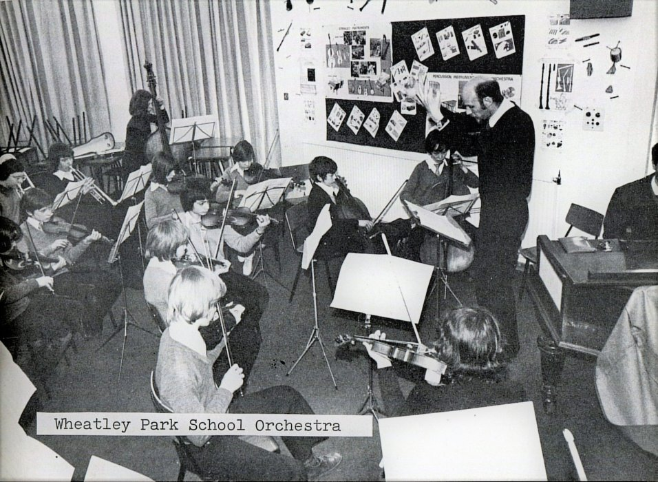 Wheatley Park School orchestra