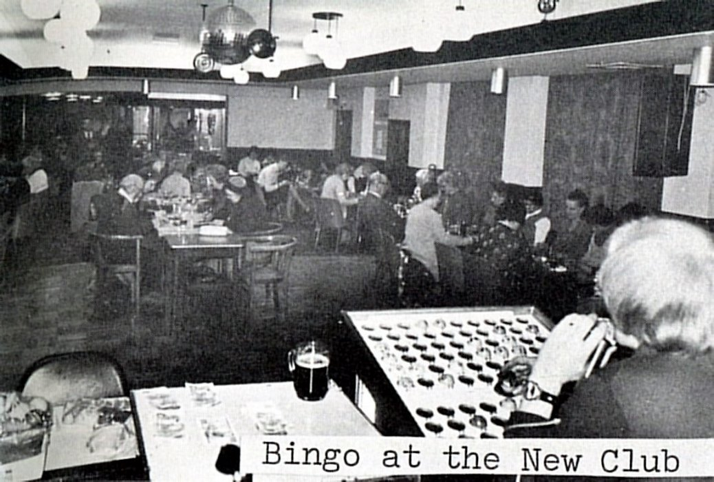 Bingo at the New Club