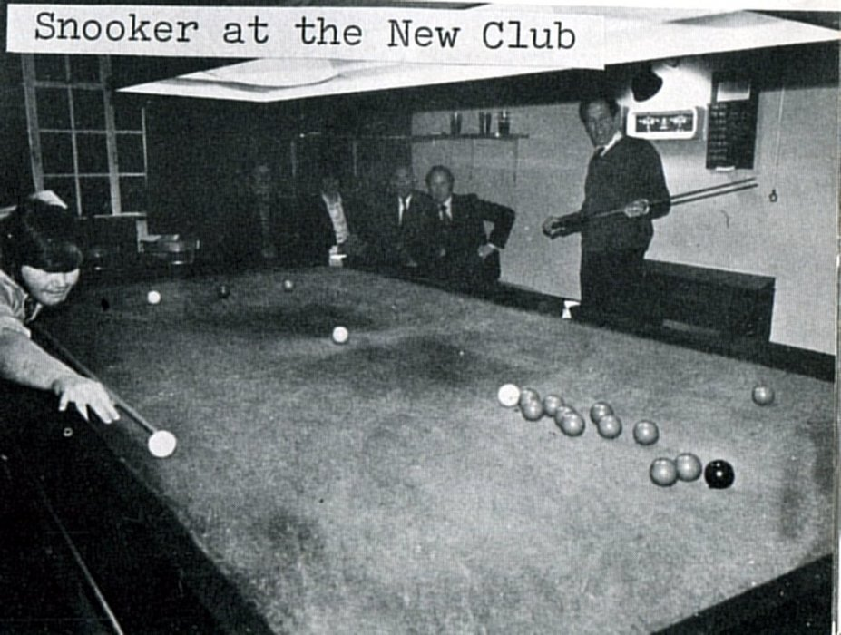 Snooker at the New Club