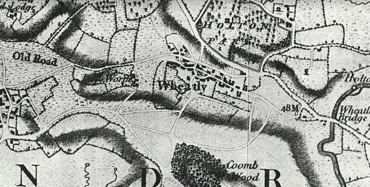 Part of the map for the Wheatley detail