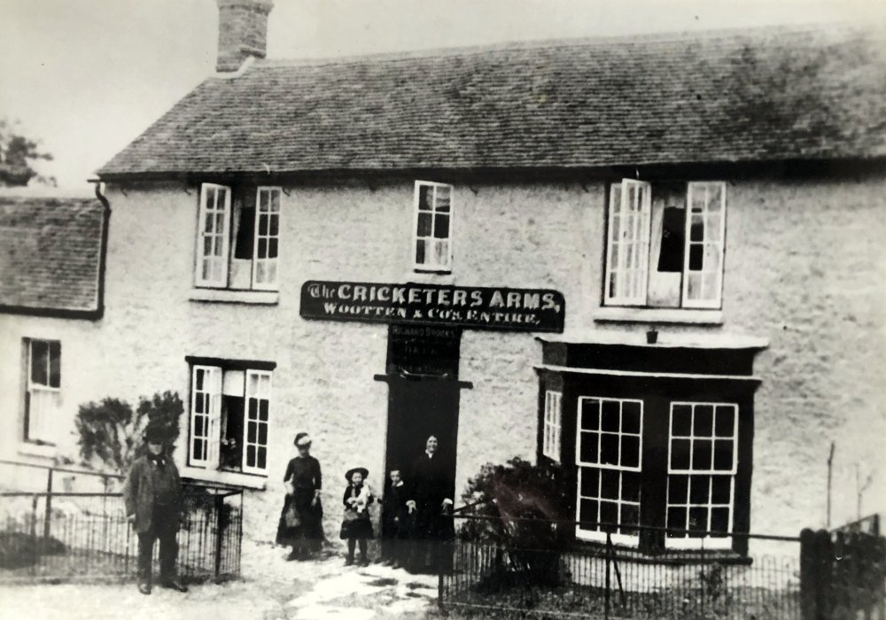 Cricketers Arms c. 1900