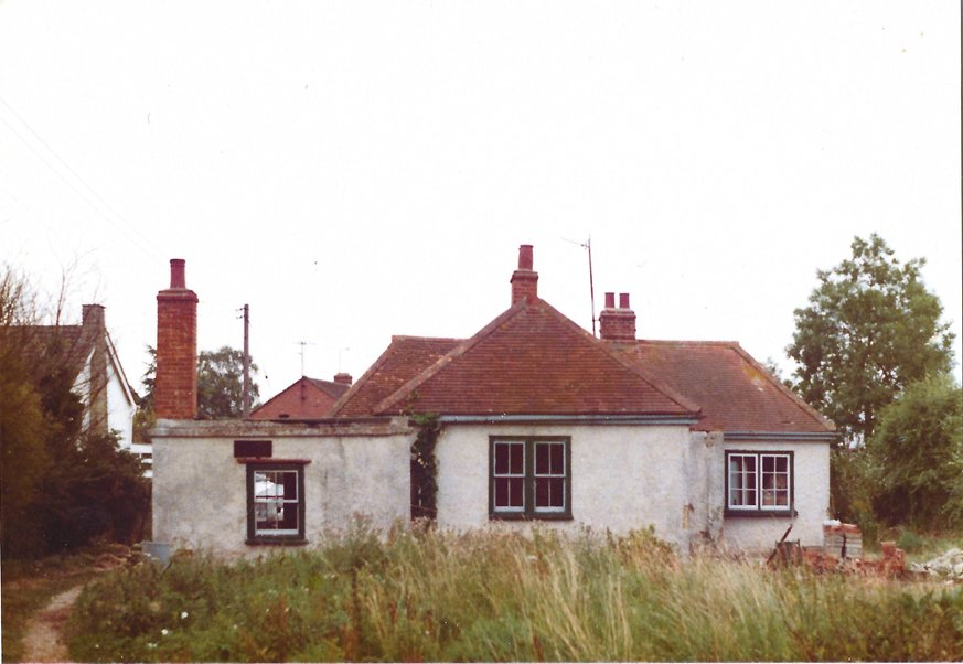 The original house, 62 Crown Road, built c. 1923 and demolished in 1977