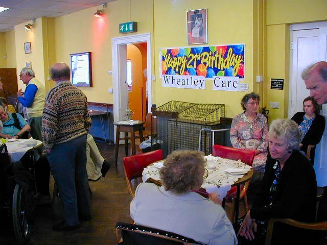 Wheatley Care party in 2004
