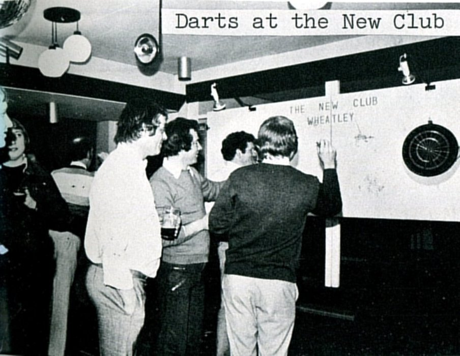 Darts at the New Club