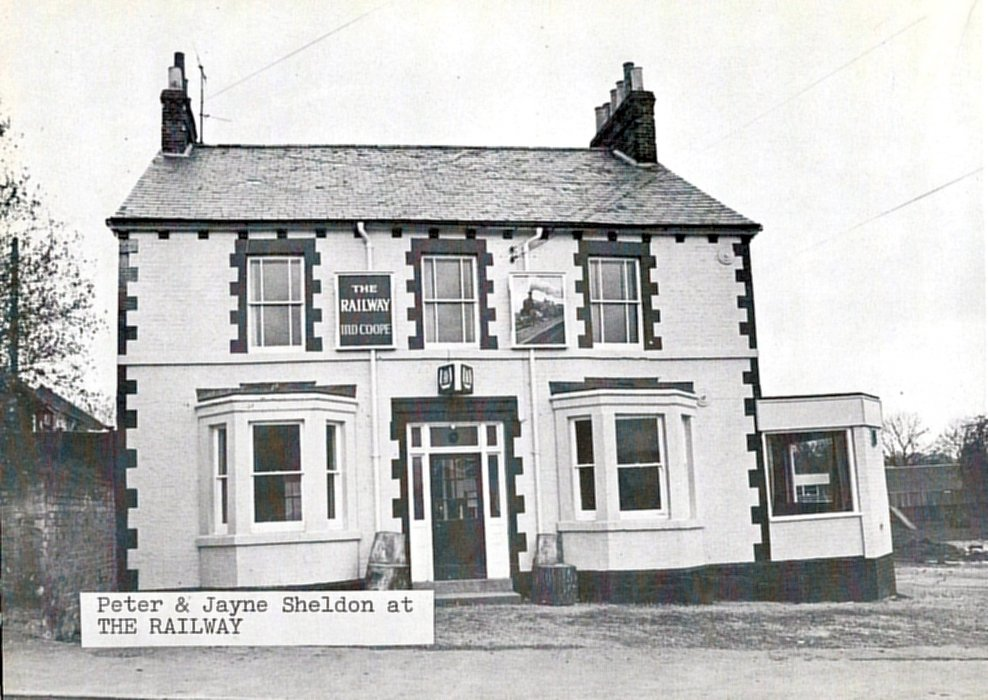 Railway Hotel. Peter and Jayne Sheldon