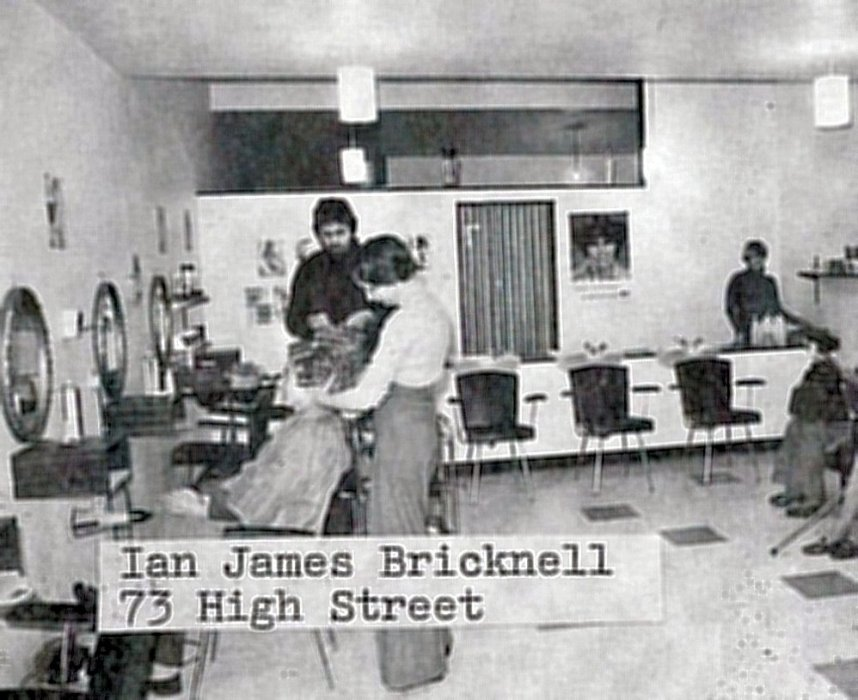 Ian James Bricknell hairdressers