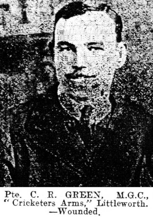 Private Christopher Green (Oxford Journal Illustrated, 4 December 1918)